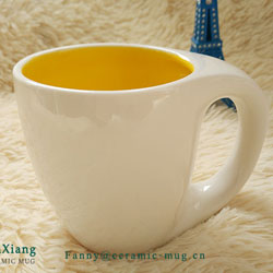 Daily-use ceramic mug market warming modern