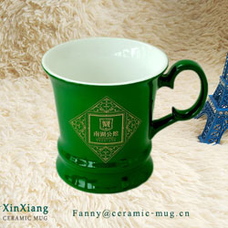 How custom ceramic coffee mugs with different mouth in China ?