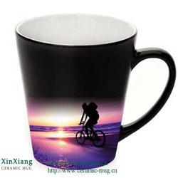 Energy saving ceramic coffee mugs