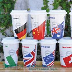 Eco Cups With Silicone Cover 12oz