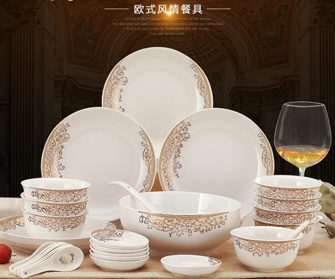 Custom made ceramic tableware