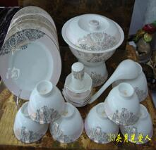 Hotel high-grade porcelain, complete set of tableware