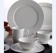 Tangshan bone china tableware European bone china tableware set