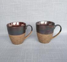 European style ceramic cup metal glaze ceramic mug