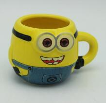 Minions ceramic mugs Mousse ceramic cup manufacturer