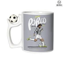 Wholesale ceramic cup, customized personalized Football mugs