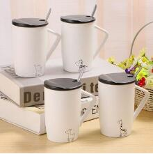 Matte animal breakfast cup Hot mugs