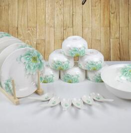 Ceramic tableware, bowl, plate and Dish Set
