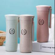 new design arsto cup biodegradable wheat straw fiber water bottle
