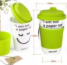 Eco environmental ceramic cup