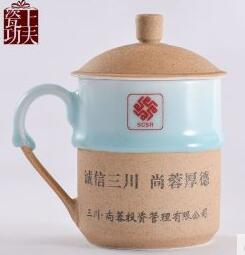 Customized ceramic tea cup manufacturer